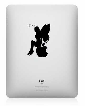 Fairy Ipad vinyl decal - UK seller