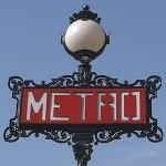 P1 - Paris Metro Wall Decal..