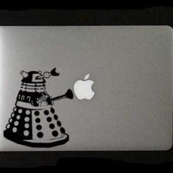 Dalek Laptop, Macbook or Ipad Decal