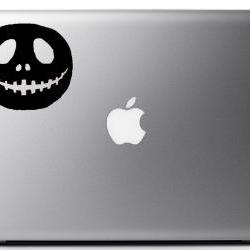 Jack Skellington Vinyl Decal - Laptop, iphone, book