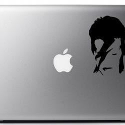 Bowie Aladdin Sane Vinyl Decal - Laptop, iphone, book